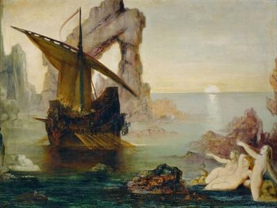 Ulisse et les Sirenes - Ulysses and the Sirens, 1875-1880