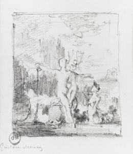 Vénus sortant de l'onde by Gustave Moreau