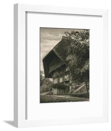 'Gutachtal - Black Forest House', 1931-Kurt Hielscher-Framed Photographic Print