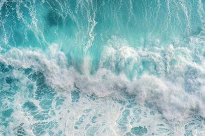 Aerial View of the Ocean Wave by Gutar photoghaphy