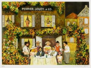 La Maison Perrier Jouët Et Cie by Guy Buffet