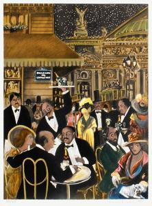 Le Grand Café De Paris by Guy Buffet