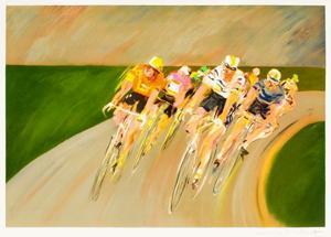 Tour de France cycliste by Guy Buffet