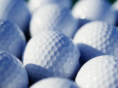 Close-up of Golf Balls