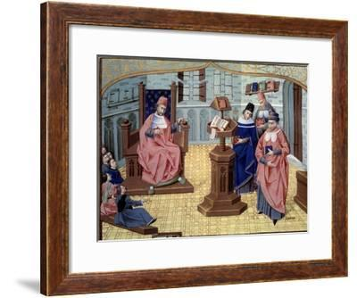 Guy De Chauliac with Great Characters of the History of Medicine--Framed Giclee Print