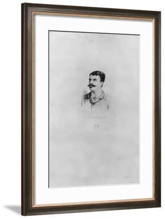 Guy De Maupassant-Henri Toussaint-Framed Giclee Print