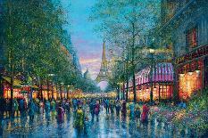 La Tour Eiffel-Guy Dessapt-Art Print