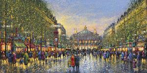 Paris Avenue de l'Opera - Detail by Guy Dessapt
