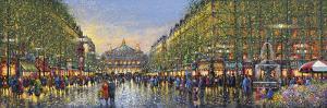 Paris Avenue de l'Opera by Guy Dessapt