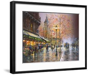 Paris, Saint-Germain-des-Pres by Guy Dessapt