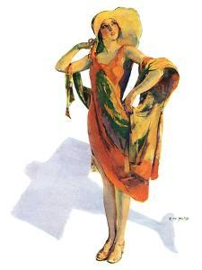 """Beach Costume,""August 9, 1930 by Guy Hoff"