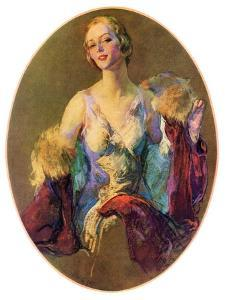 """Elegant Woman,""July 30, 1932 by Guy Hoff"