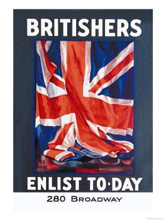 Britishers: Enlist To-Day