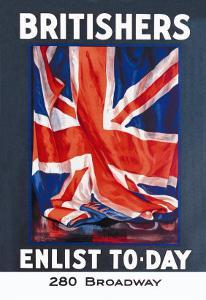 Britishers: Enlist To-Day by Guy Lipscombe