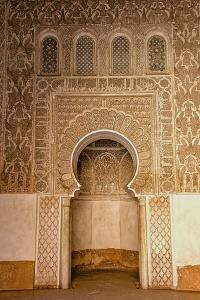 Mihrab in Little Mosque by Guy Thouvenin