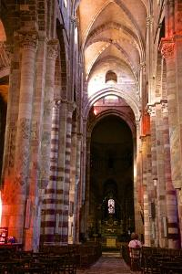 Nave and Columns, Haute Loire by Guy Thouvenin