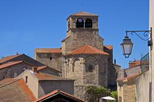 Saint Laurent Collegiate Church Dating from the 12th Century, France by Guy Thouvenin