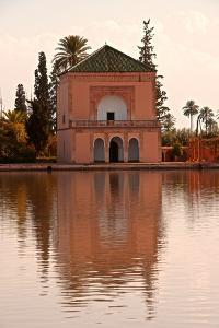 Water Basin Dating from the 12th Century Almohade Period and Pavilion by Guy Thouvenin