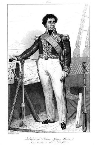 Guy-Victor Duperre (1775-184), French Admiral, 1839-Julien Leopold Boilly-Giclee Print
