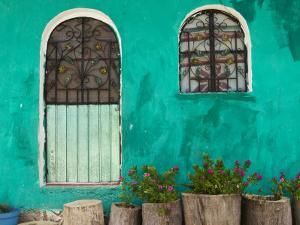 Mexican House Exterior by Guylain Doyle