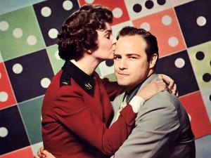 Guys And Dolls, Jean Simmons, Marlon Brando, 1955