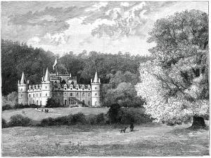 Inverary Castle, Western Scotland, 1900 by GW and Company Wilson