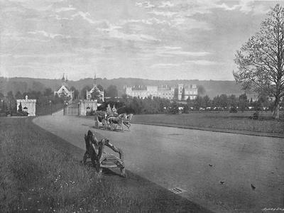 'Welbeck Abbey', c1896
