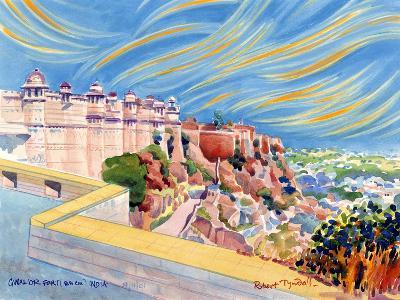 Gwalior Fort, India, 2001-Robert Tyndall-Giclee Print
