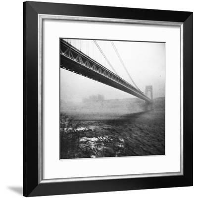 GWB Plenachrome Blur-Evan Morris Cohen-Framed Photographic Print