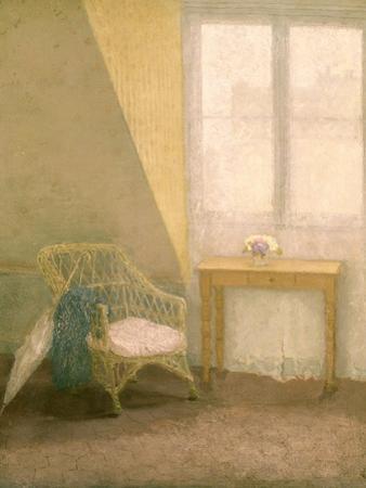 A Corner of the Artist's Room, Paris, C.1907-09 by Gwen John