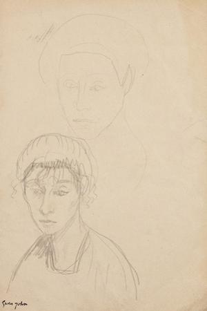 Chloë Boughton-Leigh, C.1907 by Gwen John