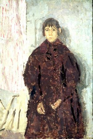 Girl in a Mulberry Dress, 1923 by Gwen John