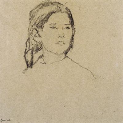 Girl's Head by Gwen John