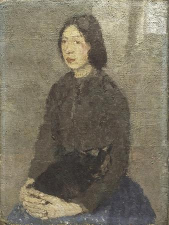 Girl with Cat in Her Lap by Gwen John
