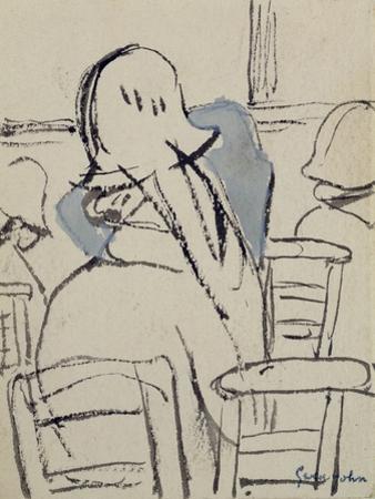 Girls in Church by Gwen John