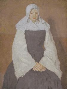 Mere Poussepin, 1920 by Gwen John