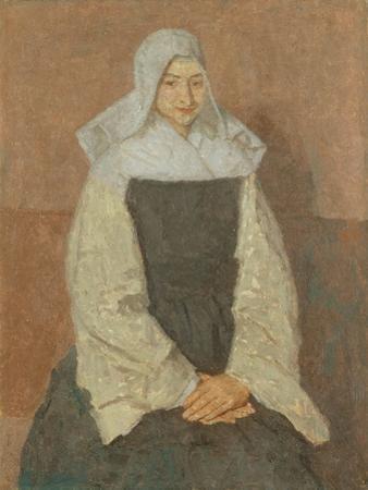 Mother Marie Poussepin by Gwen John