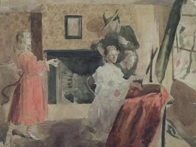 Portrait Group, 1897-98 by Gwen John