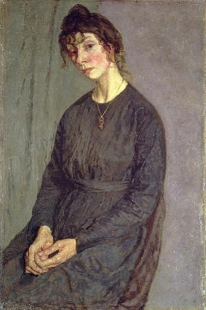 Portrait of Chloe Boughton-Leigh by Gwen John