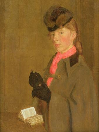 Portrait of the Artist's Sister, Winifred by Gwen John