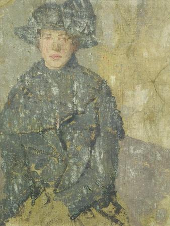 Study of a Young Girl with a Hat, 1923