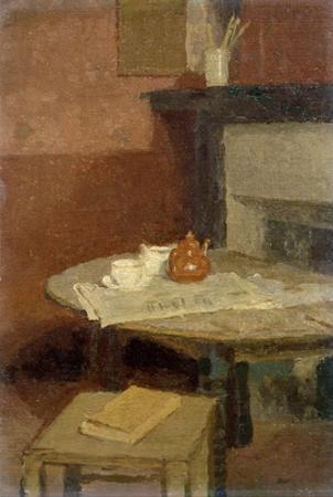 The Brown Tea Pot, 1915-16 by Gwen John