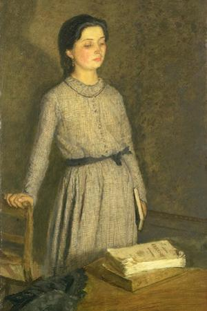 The Student, 1903 by Gwen John