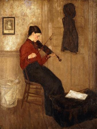 Young Woman with a Violin, 1897-98