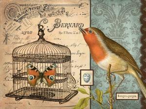 Bird & Cage II by Gwendolyn Babbitt