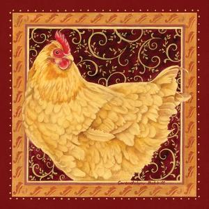 Country Hen I by Gwendolyn Babbitt
