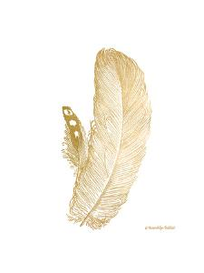 Feather on White I by Gwendolyn Babbitt