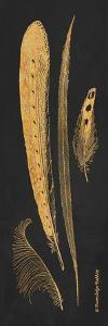 Gold Feathers IV by Gwendolyn Babbitt