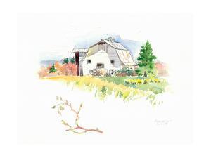 Rigefield Barn I by Gwendolyn Babbitt