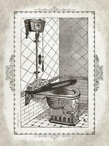 Victorian Toilet I by Gwendolyn Babbitt